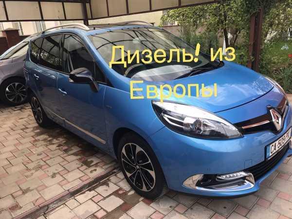 Renault Grand Scenic, 2015 год, 1 080 000 руб.