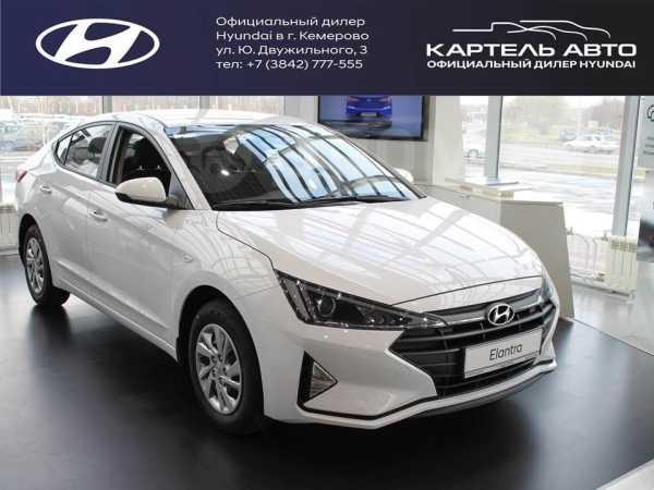 Hyundai Elantra, 2019 год, 994 000 руб.