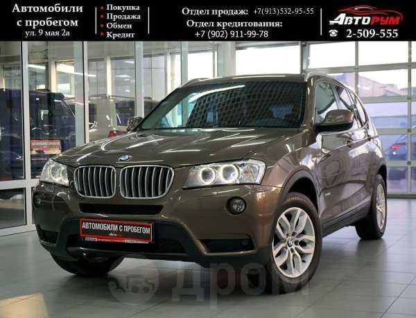 BMW X3, 2013 год, 1 257 000 руб.