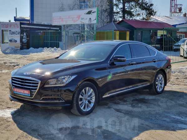 Hyundai Genesis, 2017 год, 1 650 000 руб.