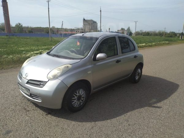 Nissan March, 2002 год, 145 000 руб.