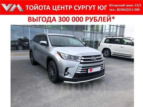 Toyota Highlander, 2018 год, 3 201 000 руб.