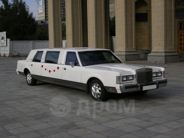 Lincoln Town Car, 1988 год, 349 000 руб.
