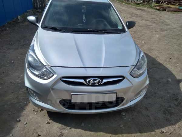 Hyundai Solaris, 2011 год, 350 000 руб.