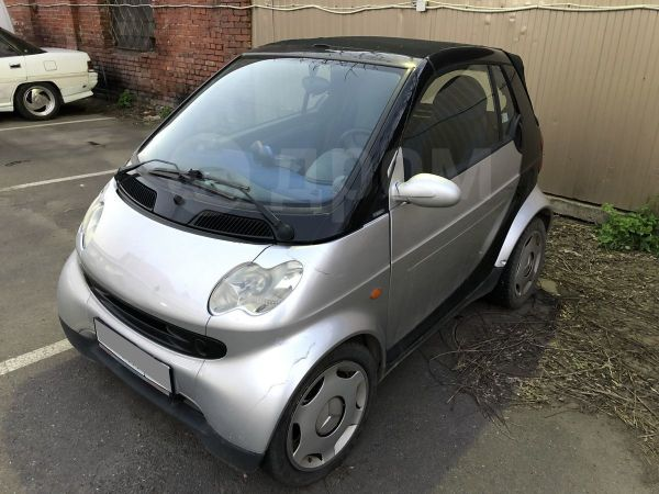 Smart Fortwo, 2002 год, 180 000 руб.