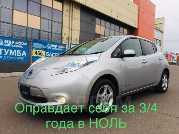 Nissan Leaf, 2012 год, 499 999 руб.