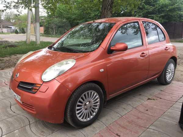Nissan Micra, 2004 год, 210 000 руб.