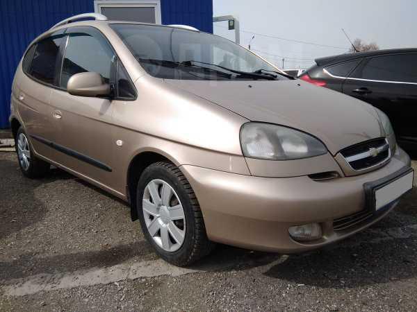 Chevrolet Rezzo, 2008 год, 292 000 руб.
