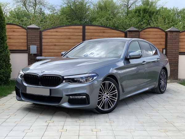 BMW 5-Series, 2017 год, 2 620 000 руб.