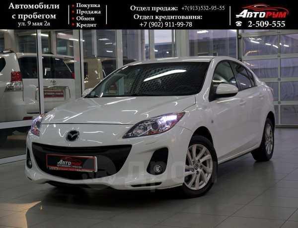Mazda Mazda3, 2012 год, 607 000 руб.