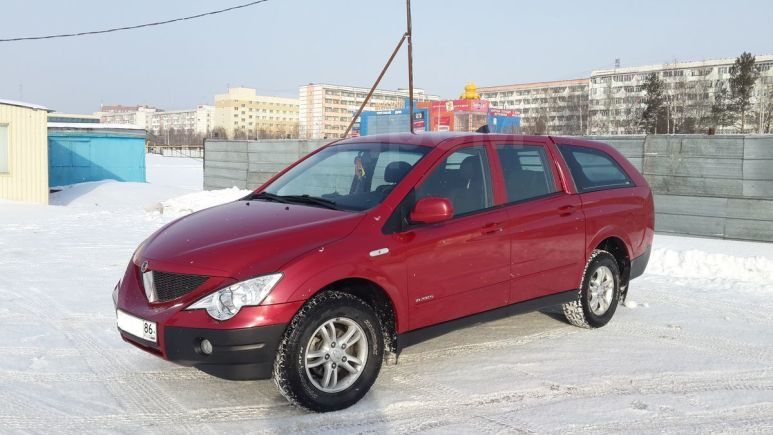 SsangYong Actyon Sports, 2008 год, 380 000 руб.
