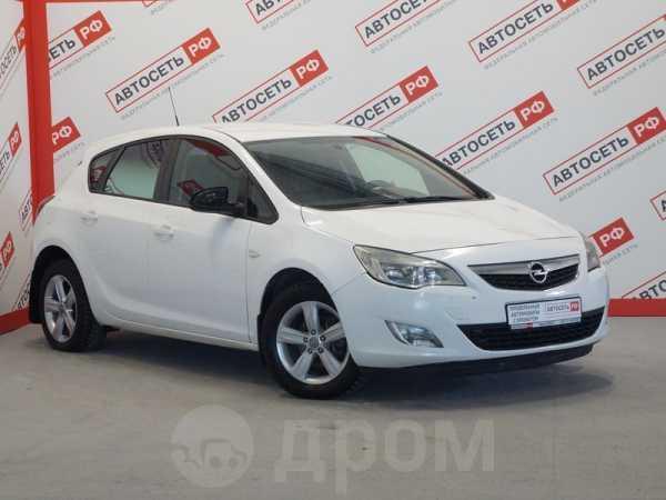 Opel Astra, 2010 год, 366 000 руб.