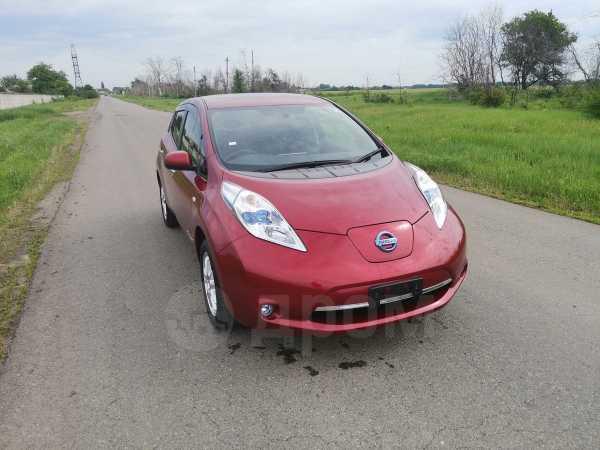 Nissan Leaf, 2015 год, 830 000 руб.