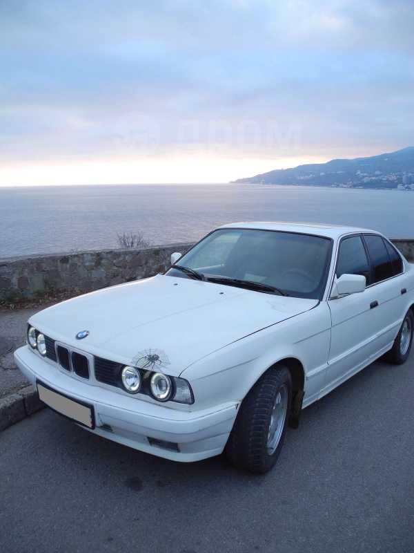 BMW 5-Series, 1989 год, 95 000 руб.