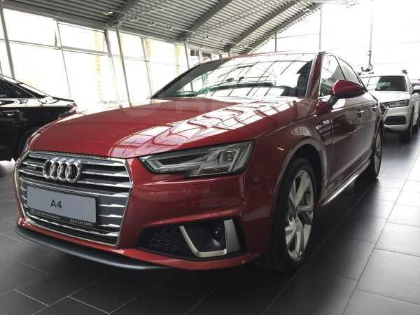 Audi A4, 2019 год, 2 950 000 руб.