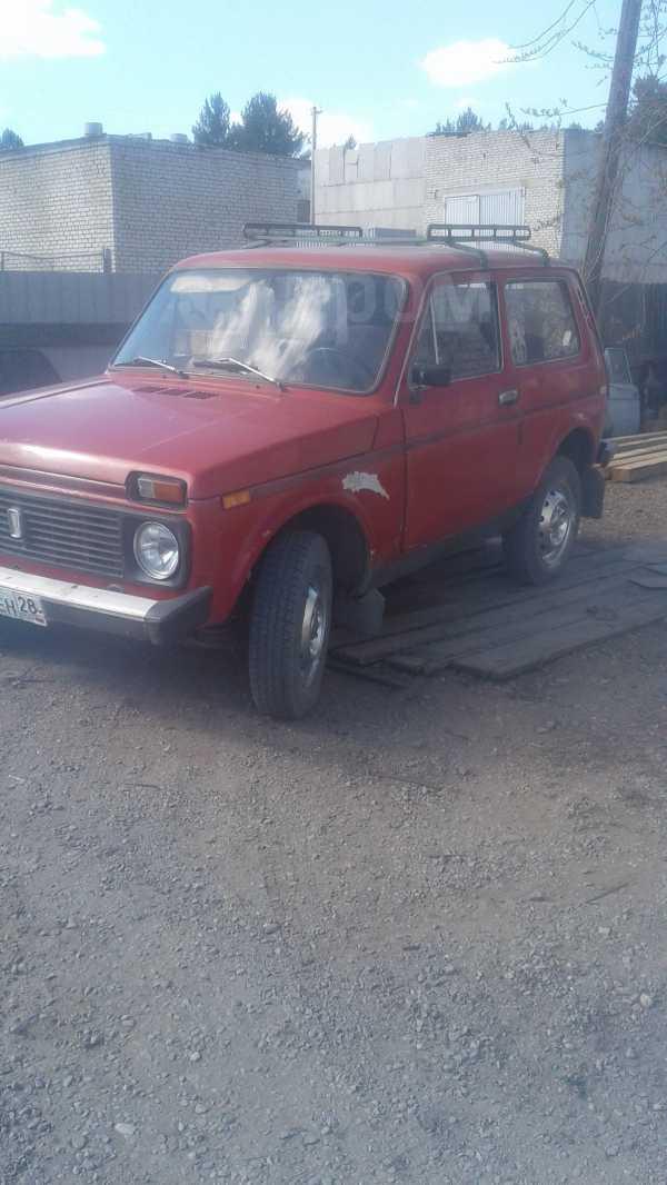 Лада 4x4 2121 Нива, 1989 год, 120 000 руб.