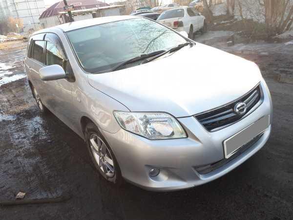 Toyota Corolla Fielder, 2009 год, 521 000 руб.