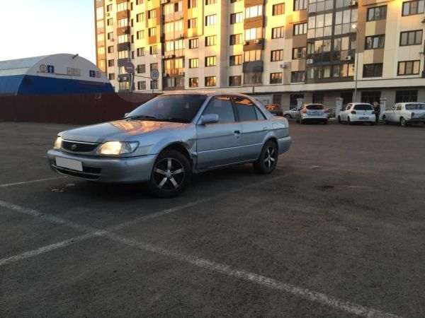 Toyota Soluna, 2001 год, 125 000 руб.