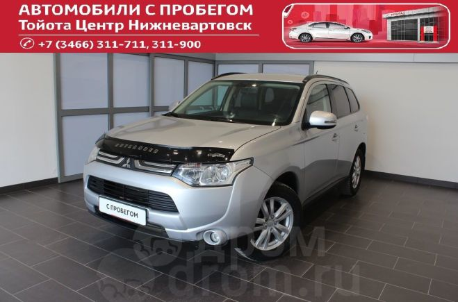 Mitsubishi Outlander, 2014 год, 970 000 руб.