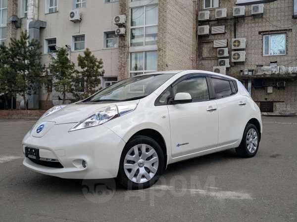 Nissan Leaf, 2013 год, 592 000 руб.