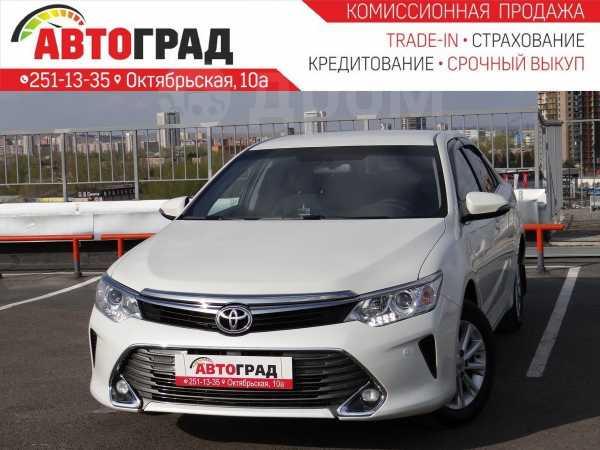 Toyota Camry, 2017 год, 1 297 000 руб.