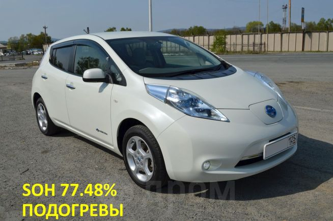 Nissan Leaf, 2011 год, 445 000 руб.