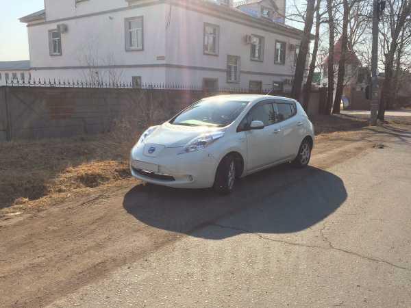 Nissan Leaf, 2012 год, 440 000 руб.