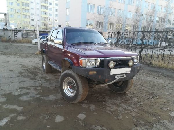 Toyota Hilux Pick Up, 1992 год, 620 000 руб.