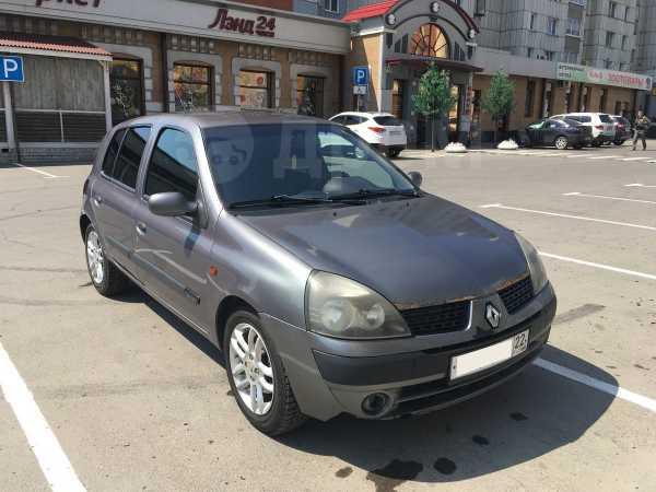 Renault Clio, 2002 год, 159 000 руб.
