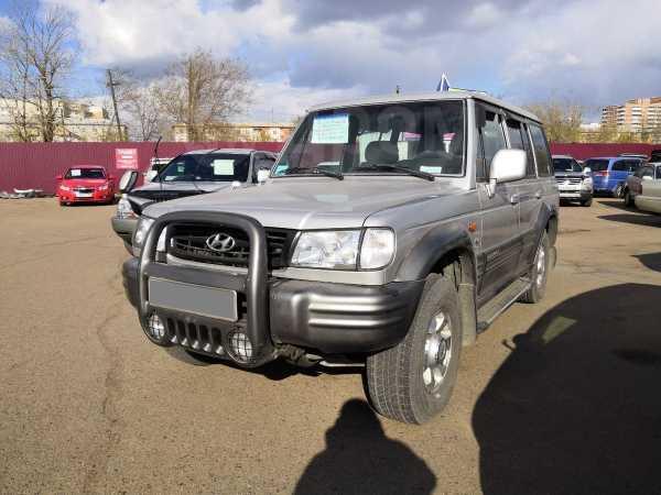 Hyundai Galloper, 2002 год, 399 000 руб.