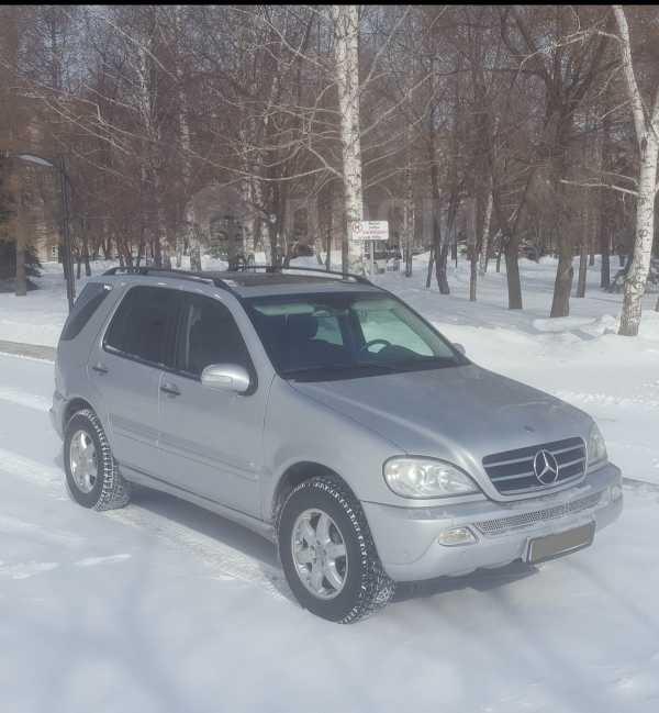 Mercedes-Benz M-Class, 2002 год, 390 000 руб.