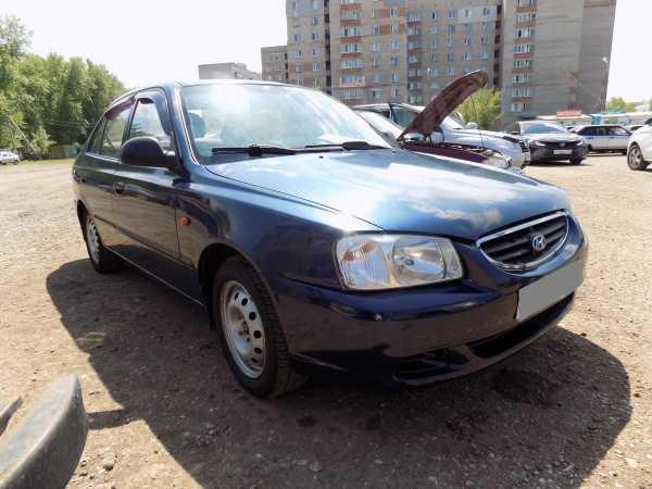 Hyundai Accent, 2008 год, 159 000 руб.