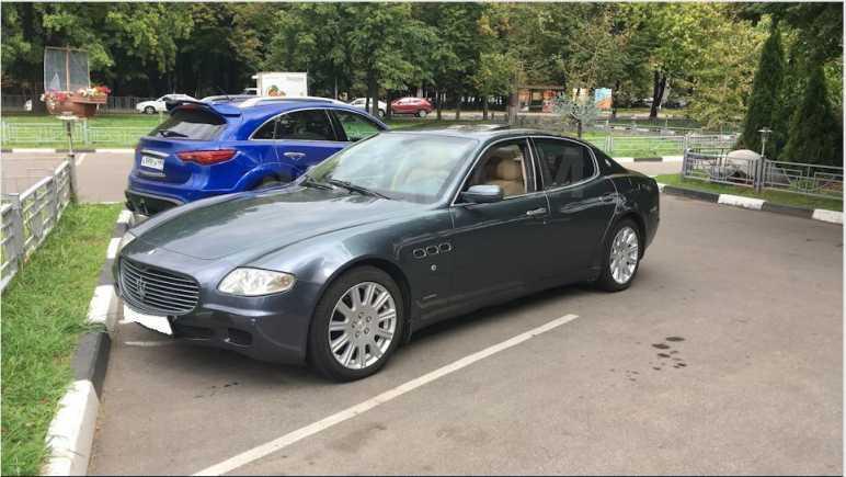 Maserati Quattroporte, 2004 год, 2 000 000 руб.