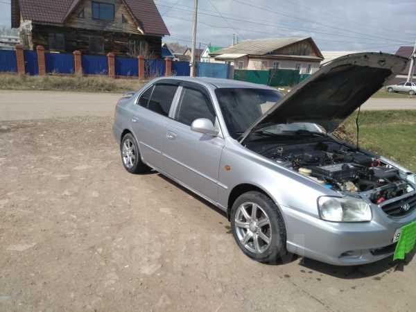 Hyundai Accent, 2007 год, 159 000 руб.