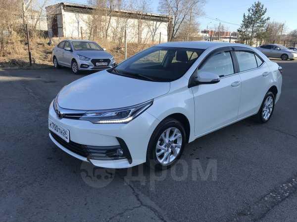 Toyota Corolla, 2017 год, 1 257 000 руб.