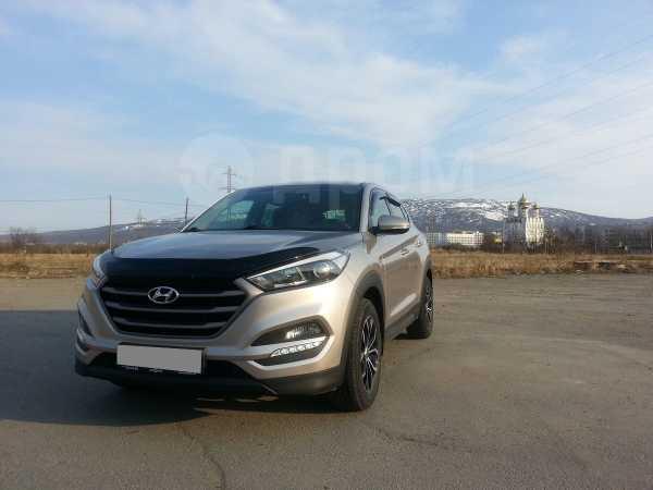 Hyundai Tucson, 2017 год, 1 600 000 руб.