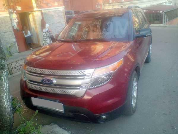 Ford Explorer, 2011 год, 810 000 руб.