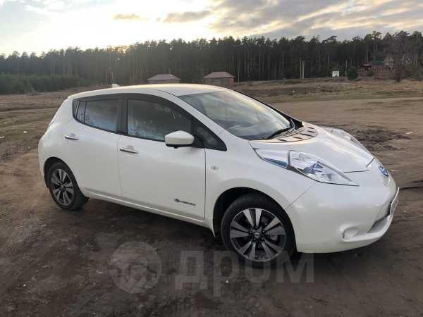 Nissan Leaf, 2016 год, 1 100 000 руб.