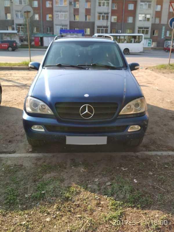Mercedes-Benz M-Class, 2002 год, 493 000 руб.