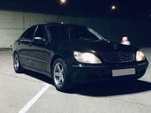 Mercedes-Benz S-класс, 2000 г., Иркутск