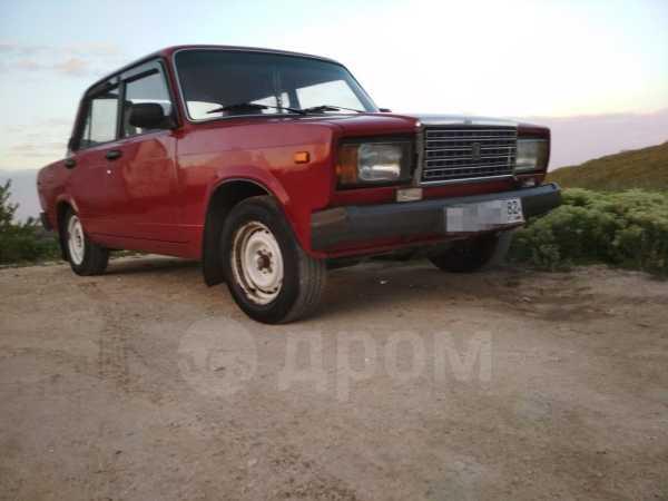 Лада 2107, 1991 год, 65 000 руб.