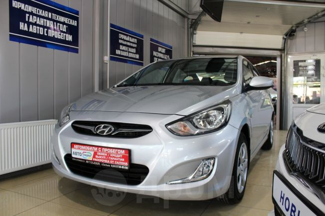 Hyundai Solaris, 2011 год, 429 900 руб.