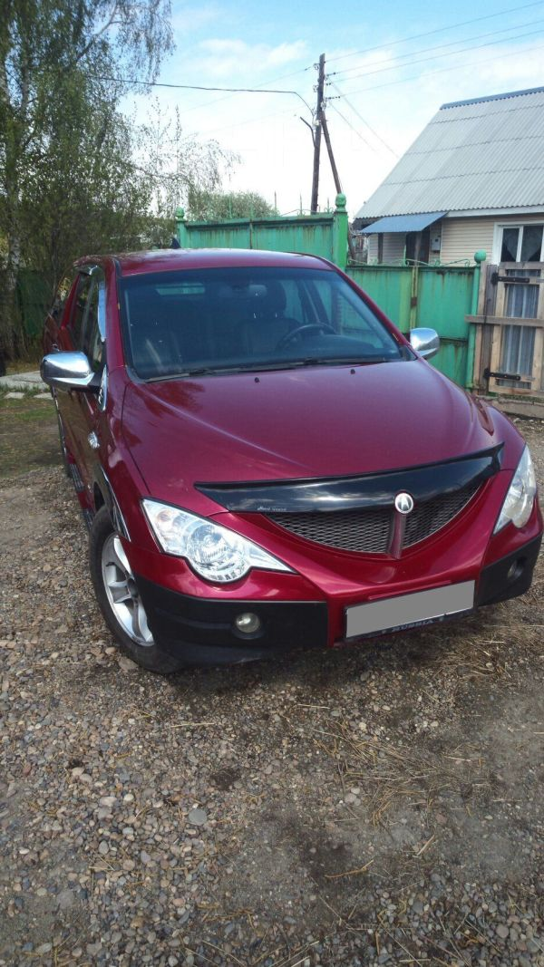 SsangYong Actyon Sports, 2008 год, 360 000 руб.