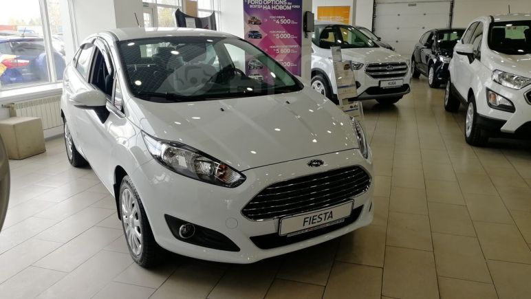 Ford Fiesta, 2018 год, 864 000 руб.