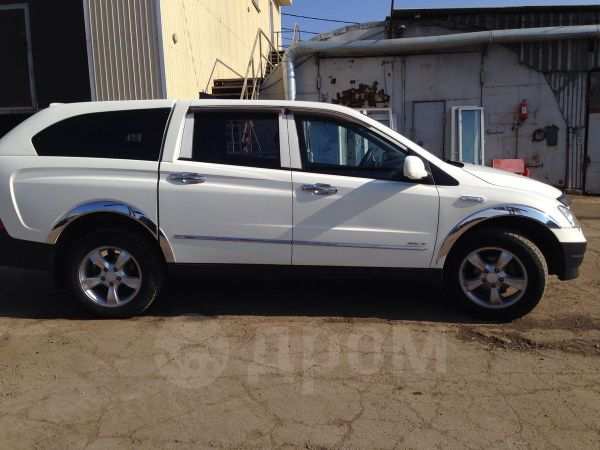 SsangYong Actyon Sports, 2009 год, 410 000 руб.