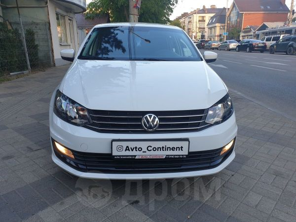 Volkswagen Polo, 2017 год, 562 000 руб.
