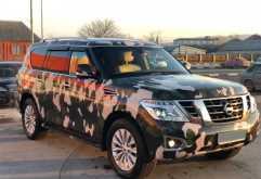 Шали Nissan Patrol 2014