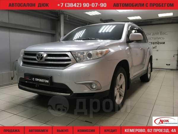 Toyota Highlander, 2012 год, 1 249 999 руб.