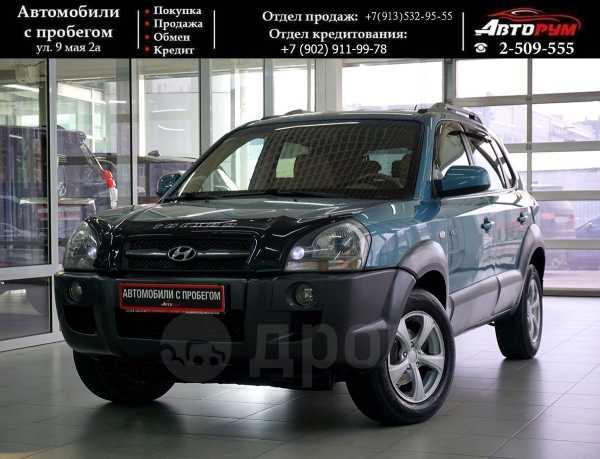 Hyundai Tucson, 2006 год, 587 000 руб.