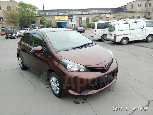 Toyota Vitz, 2015 год, 485 000 руб.